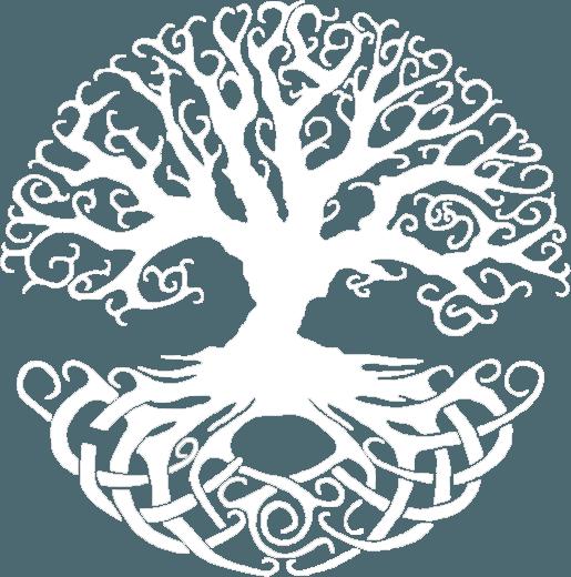 keltischer Lebensbaum weiss