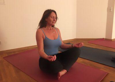 In der kleinen Meditation